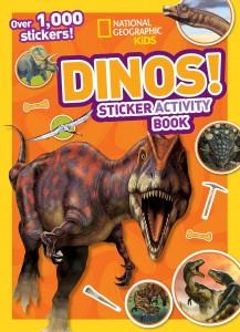 Libros de dinosaurios para niños y adultos | National Geographic Kids Dinos Sticker activity book | +4 años | 56 páginas | Libro en inglés