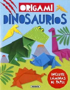 Libros de dinosaurios para niños y adultos | Origami. Dinosaurios | +7 años | 96 páginas
