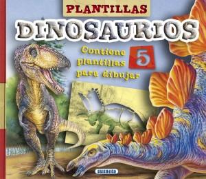 Libros de dinosaurios para niños y adultos | Plantillas de dinosaurios | +6 años | 10 páginas