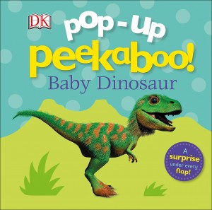 Libros de dinosaurios para niños y adultos | Pop-up Peekaboo! Baby Dinosaur | +3 años | 12 páginas | Libro en inglés
