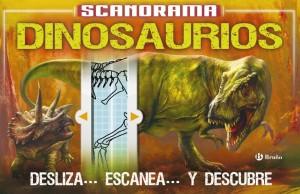 Libros de dinosaurios para niños y adultos | Scanorama. Dinosaurios | +8 años | 32 páginas
