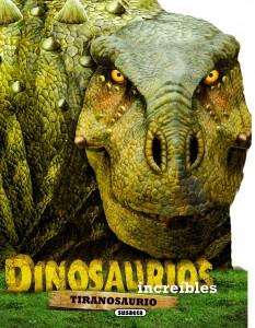Libros de dinosaurios para niños y adultos | Tiranosaurio | +4 años | 12 páginas