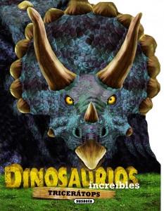 Libros de dinosaurios para niños y adultos | Tricerátops | +4 años | 12 páginas