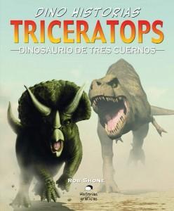 Libros de dinosaurios para niños y adultos | Triceratops. Dinosaurio de tres cuernos | +9 años | 32 páginas