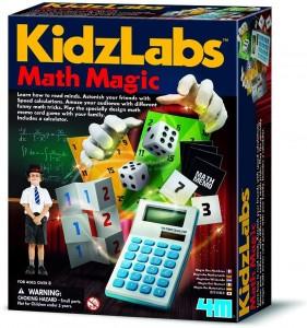 Juegos de magia para niños y niñas | KidzLabs. Magia matemática | A partir de 8 años