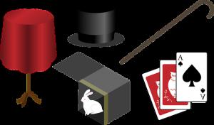 Libros y juegos de magia para niños