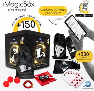 Juegos de magia para niños y niñas | iMagicBox Cife Cubo de Magia| A partir de 8 años