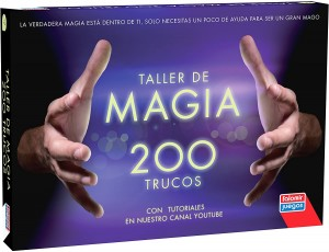 Juegos de magia para niños y niñas | Taller de magia 200 trucos | A partir de 7 años