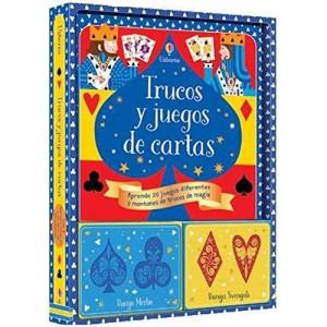 Libros de magia infantil, para niños y adultos | Trucos y juegos de cartas | A partir de 7 años | 64 páginas