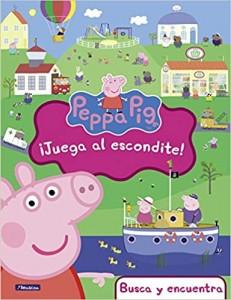 Juguetes y cuentos de Peppa Pig | ¡Juega al escondite! | A partir de 4 años | 32 páginas