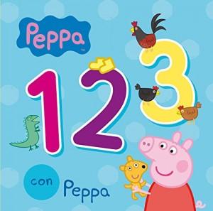 Juguetes y cuentos de Peppa Pig | 123 con Peppa| De 0 a 3 años | 18 páginas