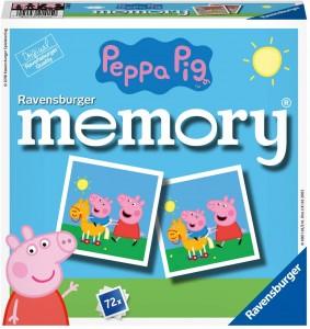 Juguetes y cuentos de Peppa Pig | Memory con 72 tarjetas | A partir de 3 años