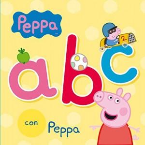 Juguetes y cuentos de Peppa Pig | ABC con Peppa| De 0 a 3 años | 18 páginas
