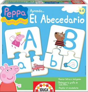 Juguetes y cuentos de Peppa Pig | Aprendo… el abecedario | De 4 a 5 años