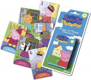 Juguetes y cuentos de Peppa Pig | Baraja de cartas de Peppa Pig | A partir de 3 años