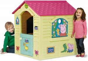 Juguetes y cuentos de Peppa Pig | Casita infantil de exterior | A partir de 2 años