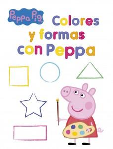 Juguetes y cuentos de Peppa Pig | Colores y formas con Peppa | 32 páginas | A partir de 4 años