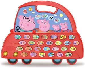 Juguetes y cuentos de Peppa Pig | El auto Alfabeto de Peppa Pig | De 3 a 6 años