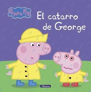 Juguetes y cuentos de Peppa Pig | El catarro de George | A partir de 4 años | 24 páginas