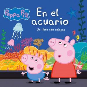 Juguetes y cuentos de Peppa Pig | En el acuario | De 0 a 3 años | 10 páginas