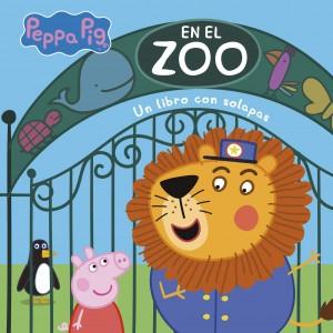 Juguetes y cuentos de Peppa Pig | En el zoo | De 0 a 3 años | 10 páginas