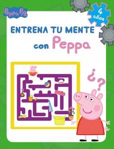 Juguetes y cuentos de Peppa Pig | Entrena tu mente con Peppa. 4 años | A partir de 4 años | 48 páginas