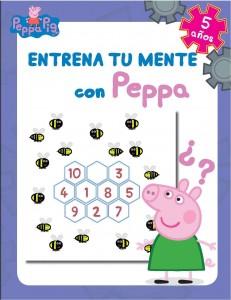 Juguetes y cuentos de Peppa Pig | Entrena tu mente con Peppa. 5 años | A partir de 5 años | 48 páginas