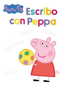 Juguetes y cuentos de Peppa Pig | Escribo con Peppa | A partir de 4 años | 32 páginas