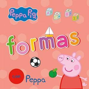 Juguetes y cuentos de Peppa Pig | Formas con Peppa| De 0 a 3 años | 18 páginas
