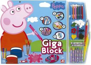 Juguetes y cuentos de Peppa Pig | Giga Block de Peppa Pig | A partir de 3 años