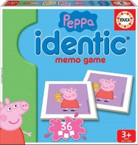 Juguetes y cuentos de Peppa Pig | Identic memo game | A partir de 3 años