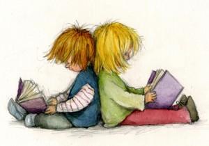 Cómo mejorar la comprensión lectora en niños de primaria | Ilustración de Katherine Kirkland