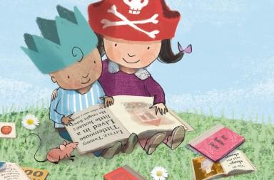 Cómo mejorar la comprensión lectora en niños de primaria | Ilustración de Sarah Massini