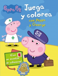Juguetes y cuentos de Peppa Pig | Juega y colorea con Peppa y George | A partir de 4 años | 16 páginas