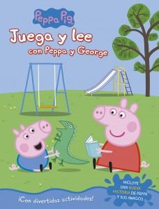 Juguetes y cuentos de Peppa Pig | Juega y lee con Peppa y George | 24 páginas | A partir de 4 años