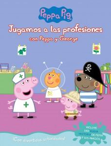 Juguetes y cuentos de Peppa Pig | Jugamos a las profesiones con Peppa y George | A partir de 4 años | 24 páginas