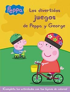 Juguetes y cuentos de Peppa Pig | Los divertidos juegos de Peppa y George | A partir de 4 años | 16 páginas