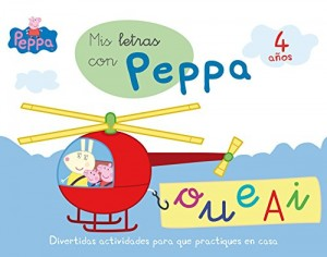 Juguetes y cuentos de Peppa Pig | Mis letras con Peppa - 4 años | A partir de 4 años | 48 páginas