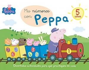 Juguetes y cuentos de Peppa Pig | Mis números con Peppa - 5 años | A partir de 5 años | 48 páginas