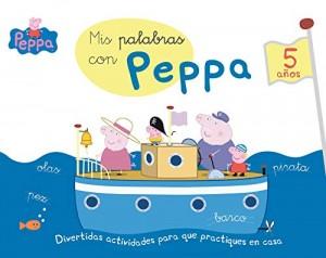 Juguetes y cuentos de Peppa Pig | Mis palabras con Peppa - 5 años | A partir de 5 años | 64 páginas
