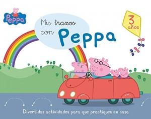 Juguetes y cuentos de Peppa Pig | Mis trazos con Peppa - 3 años | A partir de 3 años | 48 páginas