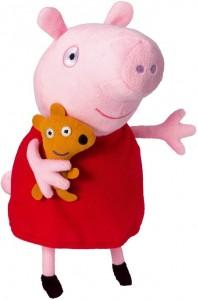 Juguetes y cuentos de Peppa Pig | Peluche de Peppa Pig con voz | A partir de 18 meses
