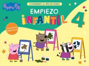 Juguetes y cuentos de Peppa Pig | Peppa Pig. Cuaderno de vacaciones. Empiezo Infantil 4 años | A partir de 4 años | 48 páginas