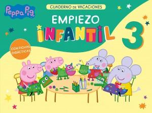 Juguetes y cuentos de Peppa Pig | Peppa Pig. Cuaderno de vacaciones. Empiezo Infantil 3 años | A partir de 3 años | 48 páginas