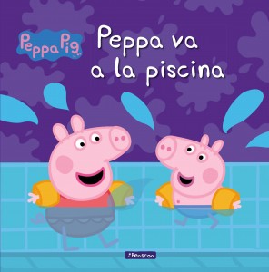 Juguetes y cuentos de Peppa Pig | Peppa va a la piscina | A partir de 4 años | 24 páginas