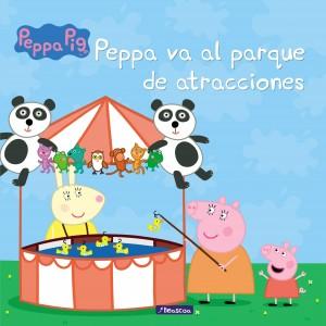 Juguetes y cuentos de Peppa Pig | Peppa va al parque de atracciones | A partir de 4 años | 24 páginas