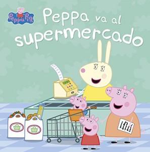 Juguetes y cuentos de Peppa Pig | Peppa va al supermercado | A partir de 4 años | 24 páginas