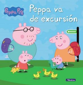 Juguetes y cuentos de Peppa Pig | Peppa va de excursión | A partir de 4 años | 24 páginas