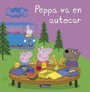 Juguetes y cuentos de Peppa Pig | Peppa va en autocar | A partir de 4 años | 24 páginas