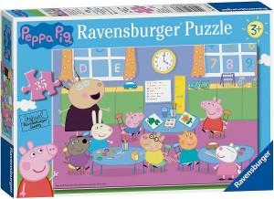 Juguetes y cuentos de Peppa Pig | Puzzle de 35 piezas. Sala de clase | A partir de 3 años